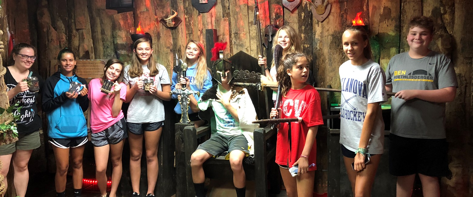 summer confirmation Escape Room